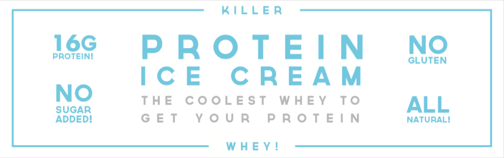 louis armstrong - Killer Whey - Protein Ice Cream
