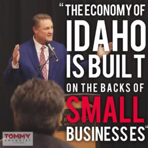 Tommy on Small Business