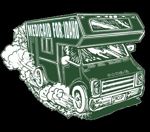 Medicaid for Idaho bus