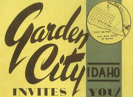 1950s ad for Garden City