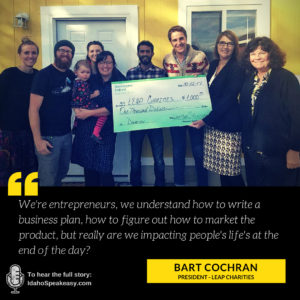 Bart Cochran - Leap Charities