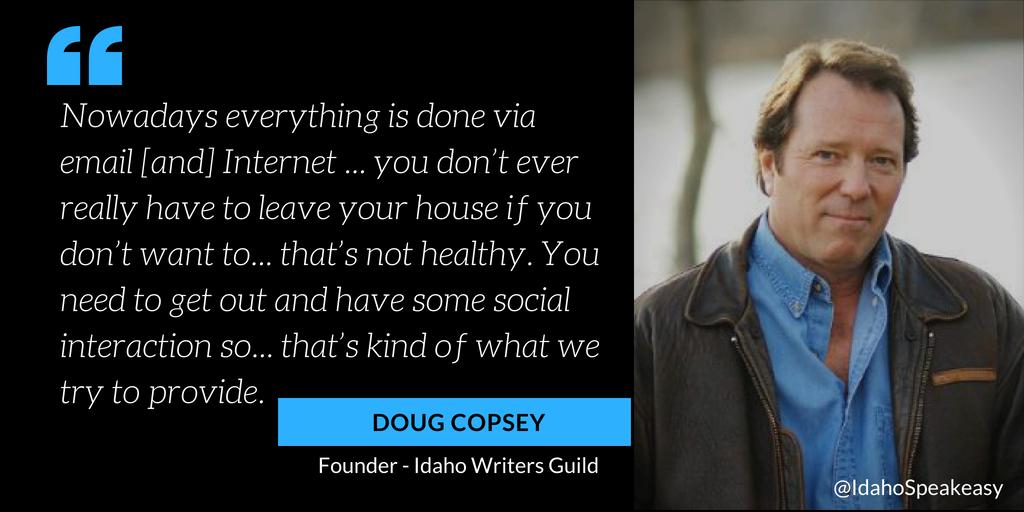 Doug Copsey on Idaho Speakeasy