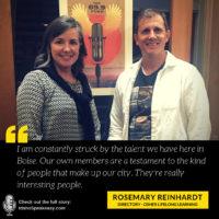 Rosemary Reinhardt - Osher Lifelong Learning