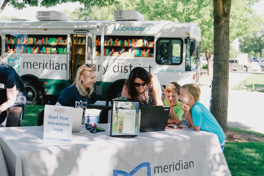 Bookmobile in Action