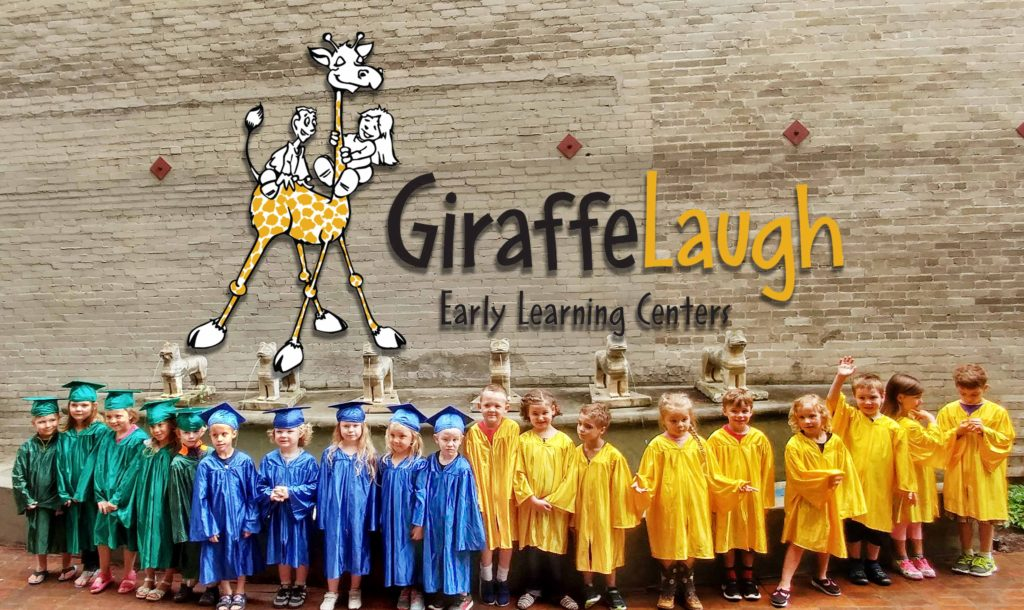 Giraffe Laugh graduates