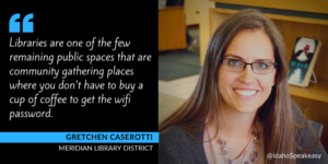 Gretchen Caserotti and the Meridian Library District
