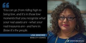 Lisa Sanchez on Idaho Speakeasy