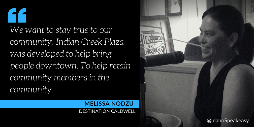 Melissa Nodzu on Idaho Speakeasy