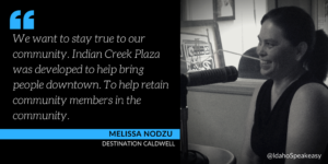 Melissa Nodzu & Destination Caldwell