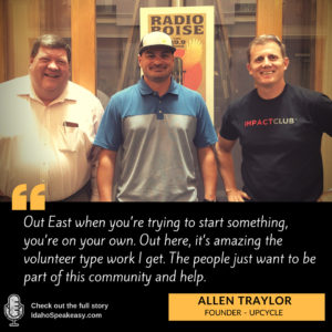 Allen Traylor of UpCycle