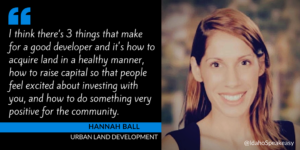 Hannah Ball & Urban Land Development