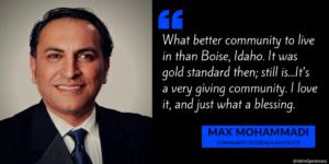 Max Mohammadi on Idaho Speakeasy