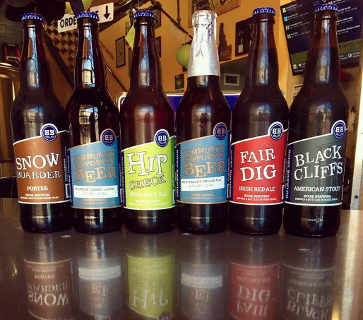 Boise Brewing beers