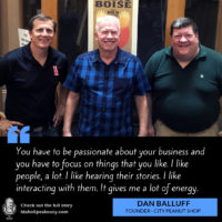 Dan Balluff- Idaho Speakeasy