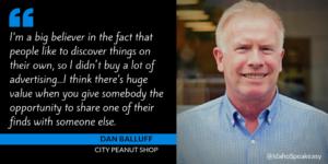 Dan Balluff on Idaho Speakeasy