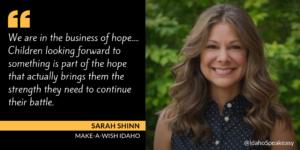 Sarah Shinn on Idaho Speakeasy
