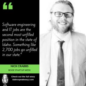 IDS: 085 Nick Crabbs – Boise Startup Week